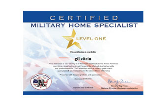 Certified Military Home Specialist