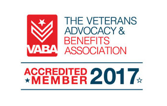 The Veterans Advocacy and Benefits Association Accredited Member 2017