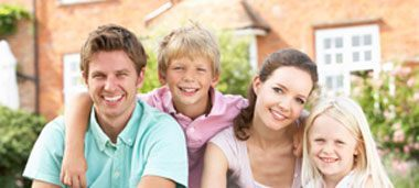 Happy family got approved for home loan